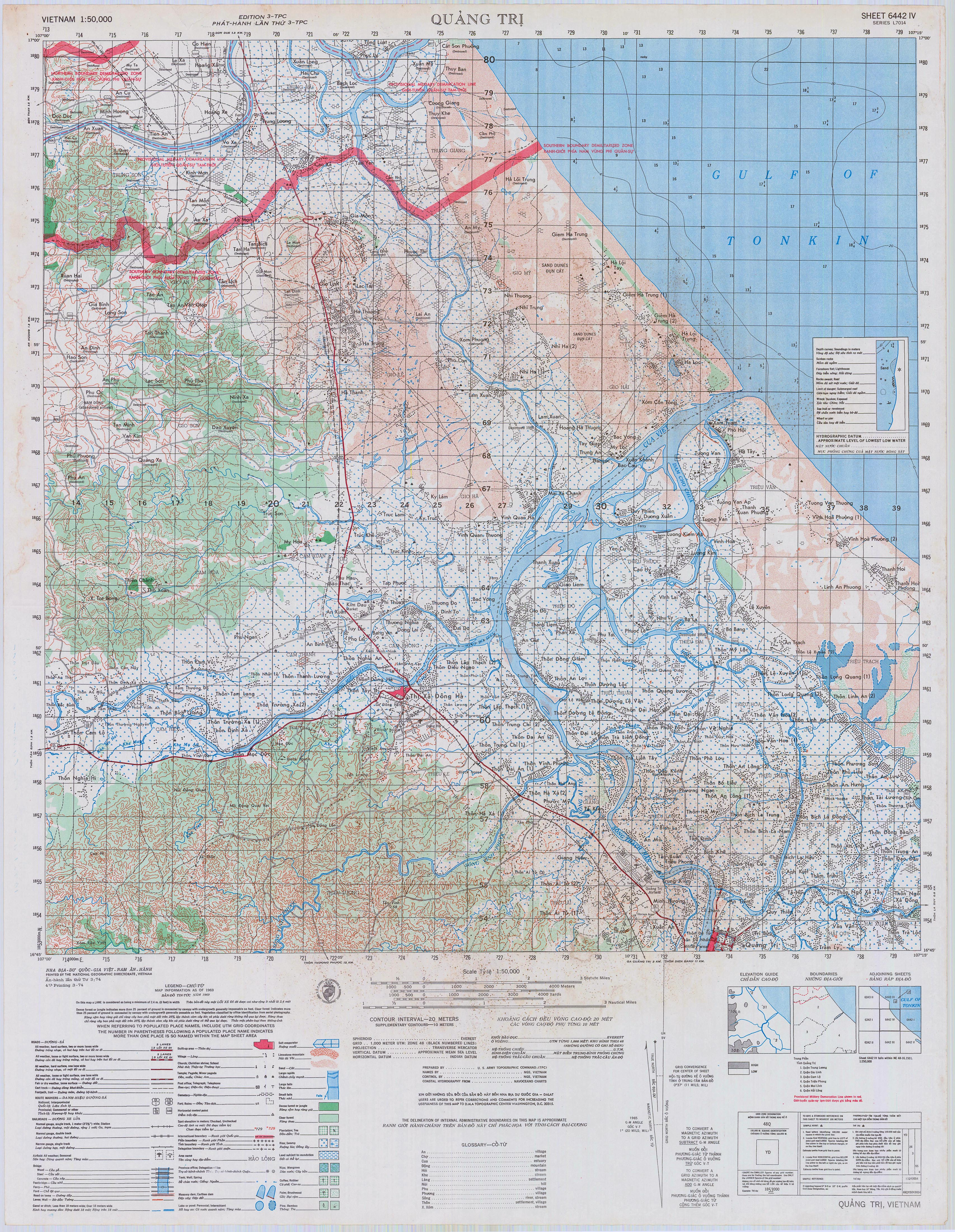 Charlie 1 506 tactical maps quang tri viet nam sciox Image collections